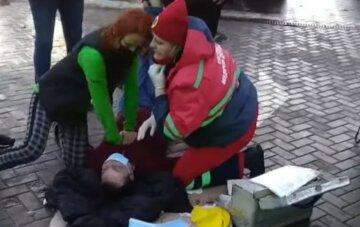 Життя львів'янина обірвалося посеред вулиці, лікарів звинувачують у бездіяльності: кадри трагедії