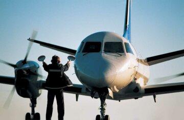 самолет, посадка