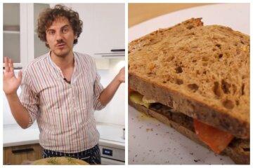 """Переможець """"Майстер Шеф"""" Клопотенко поділився рецептом найніжнішого сендвіча: """"Дуже смачно"""""""