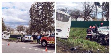 Семейная пара погибла на месте: страшная авария с автобусом на украинской трассе, кадры и детали