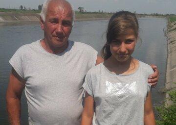 """""""Дядя Витя, Катя тонет!"""": украинец героически спас 13-летнюю девочку"""