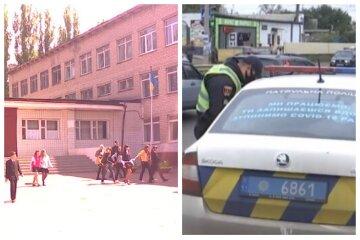 Біля одеської школи відкрили стрілянину: кадри і перші подробиці