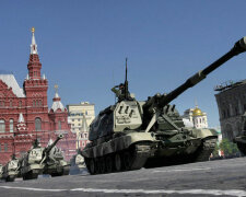 танки, Красная площадб, парад