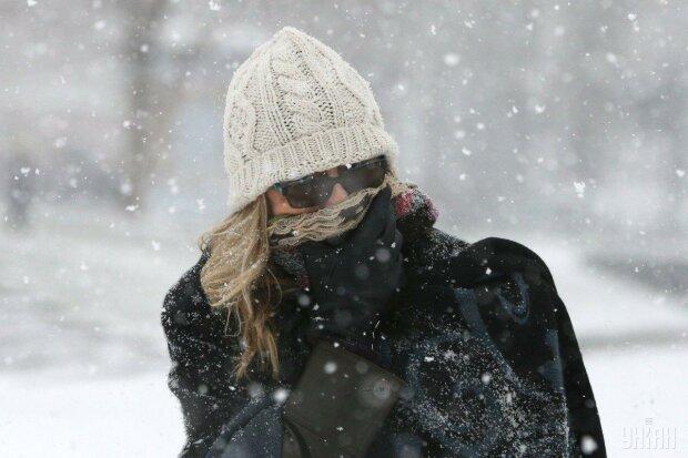 зима, снег, мороз