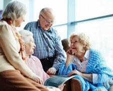 дом престарелых, пенсионеры