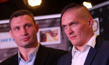 """""""Пусть вдвоем выходят"""": Усик бросил вызов братьям Кличко"""