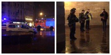 В центр Киева стянули спасателей и силовиков: подробности происходящего в столице этой ночью