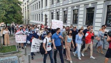Журналістам не дали провести акцію протесту під будівлею Національної опери - ЗМІ