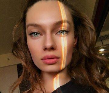 """Таня Брык из """"Супер Топ-модель по-украински"""" приковала взгляды к декольте, показав его крупным планом: """"Уф"""""""