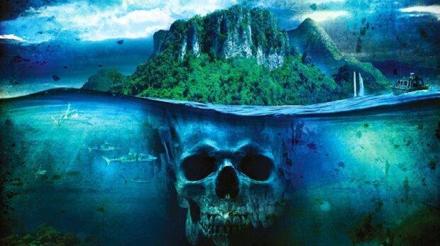 остров, загадочный, страшный