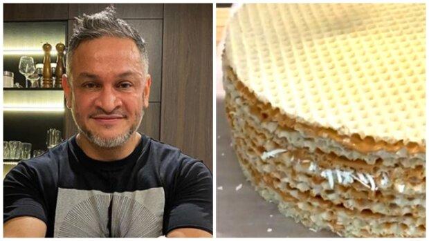 """Судья """"Мастер Шеф"""" Хименес-Браво раскрыл секрет, как сделать вафельный торт еще вкуснее: """"Точно такого не пробовали"""""""