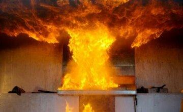 взрыв пожар