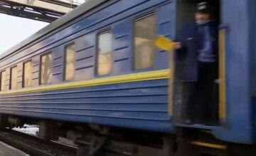 Укрзалізниця, пасажирські вагони, вокзал, скрін