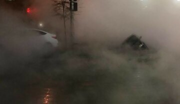 Потоп в ТРЦ Ocean Plaza, люди обварились кипятком, всюду пар: страшные кадры с места