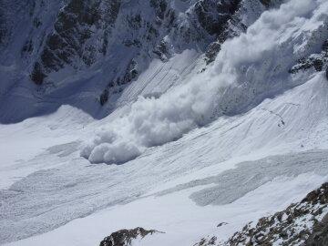 лавина горы