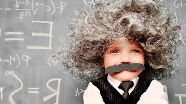 интеллект, ум, эйнштейн, ребенок