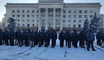 Поліцейські і бійці Нацгвардії з'їхалися на Куликове поле в Одесі: відома причина