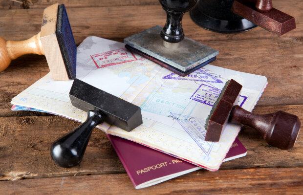 виза, загранпаспорт