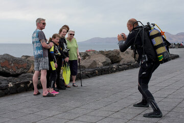 Lanzarote A Popular Destination For British Holiday Makers