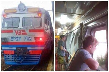 """Укрзализныця убрала кондиционеры в поезде: """"29 часов едет по жаркому солнцу"""""""