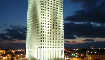 ночь небоскреб