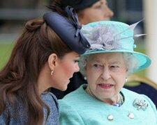 Кейт Миддлтон и королева