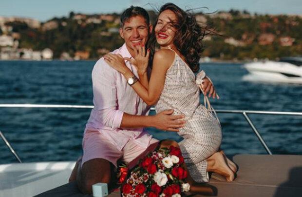 """Наречена Остапчука напідпитку показала себе у фаті й весільній сукні: """"Давно так не сміялася!"""""""
