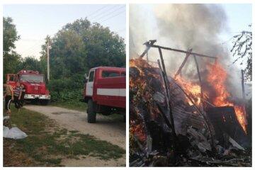 Спека викликала пожежу на Одещині, рятувальники не могли загасити: кадри НП