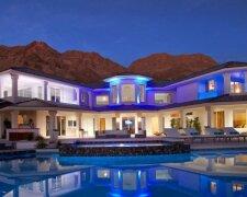 дом, жилище, бассейн