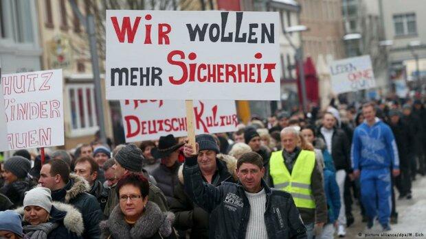Германия митинг Русскоязычных