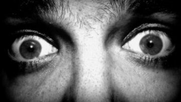глаза, страх, ужас