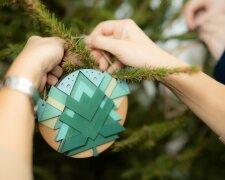 елка, наряжать елку