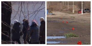 Дорогу встелили гвоздиками: хлопчика, який врятував собаку ціною життя, провели в останню путь