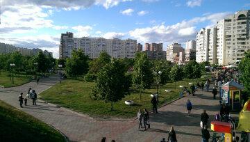парк позняки киев