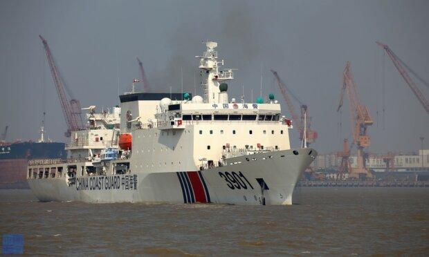 китайский катер береговой охраны