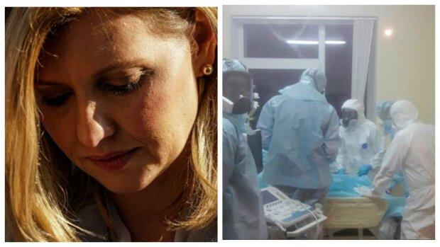 """Раскрыты неизвестные подробности лечения зараженной вирусом Зеленской: """"Вынуждены ходить в памперсах"""""""