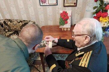 15 лет защищал Украину с моря: ветеран Второй мировой отметил 100-летний юбилей