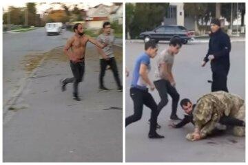 Ветерана АТО жестоко избили на остановке, появилось видео: ждал маршрутку и никого не трогал