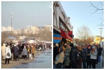 """""""Набридло боятися зарази"""": тисячі одеситів наплювали на локдаун і вийшли на вулиці, відео"""