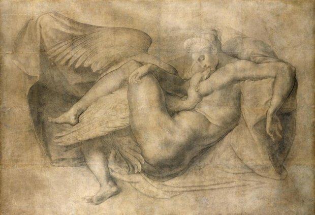 Опубліковані унікальні кадри невідомих творів Мікеланджело (фото)