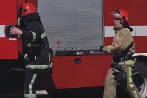 Пожарные, спасатели ГСЧС
