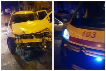 """Одеські копи влетіли в таксі на службовому авто: """"Гнав більше норми"""""""