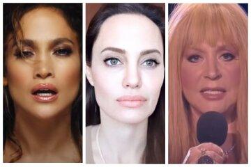 Как выглядели Дженнифер Лопес, Джоли, Алла Пугачева и другие легенды до того, как почувствовали вкус славы: впечатляющие фото
