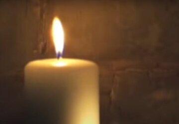Свічка, траур