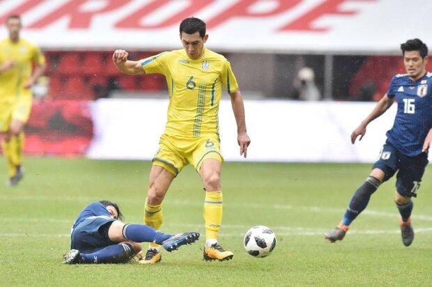 сборная Украины - сборная Японии