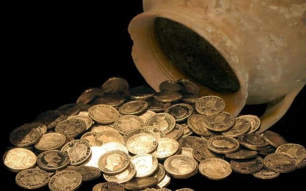 монеты, клад