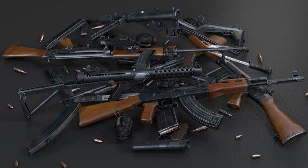 Киевляне массово раскупают оружие
