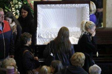 гроб труна похорон