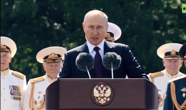 """Путін налякав юних моряків новою зовнішністю, кадри ганьби: """"Часу в тебе вже не залишилося..."""""""