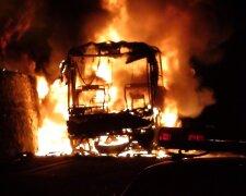взрыв, автобус